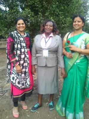 At the Farmers' Dialogue in Akola, India