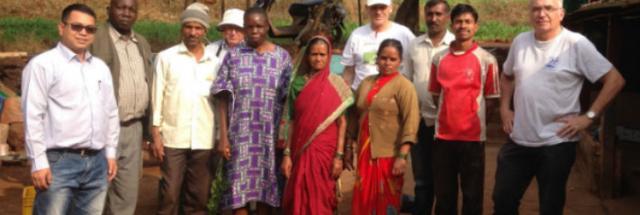 Participants of the FDI Group: Pierre Lokeka (DR Congo) - Rosemary Namatsi (Kenya) - Milton Melingasuk (South Sudan) - Virak Dok & Chum Veuk (Cambodia) - Biplab Mahato and Abhay Shaha (India) - Phil Jefferys (Australia) Yeonyuk Jeong and Dongyeol Lee (Korea) - Jean-Pierre Emeriau and Claude Bourdin (France)