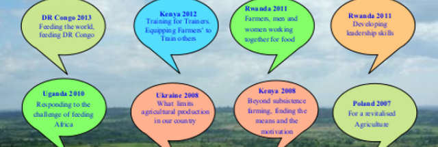 To mobilize Farmers for a united approach to agricultural  development locally and internationally