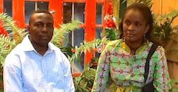 Pierre and Evelyne Lokeka