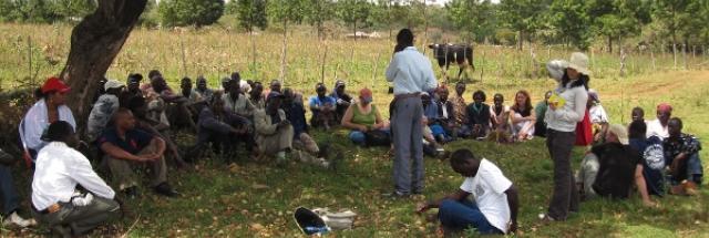 Un débat animé par le Dialogue entre agriculteurs